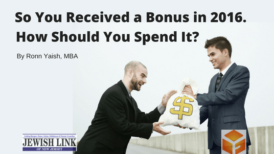 Protected: So You Received a Bonus in 2016. How Should You Spend It?